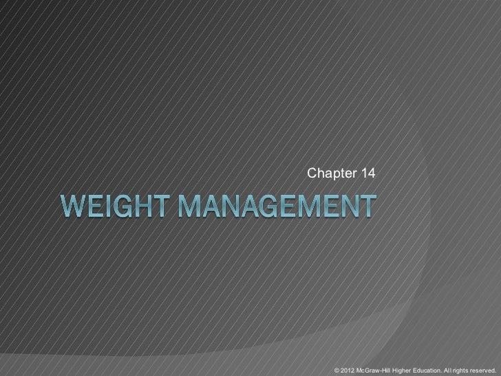 Chapter14   ©2012McGraw-HillHigherEducation.Allrightsreserved.