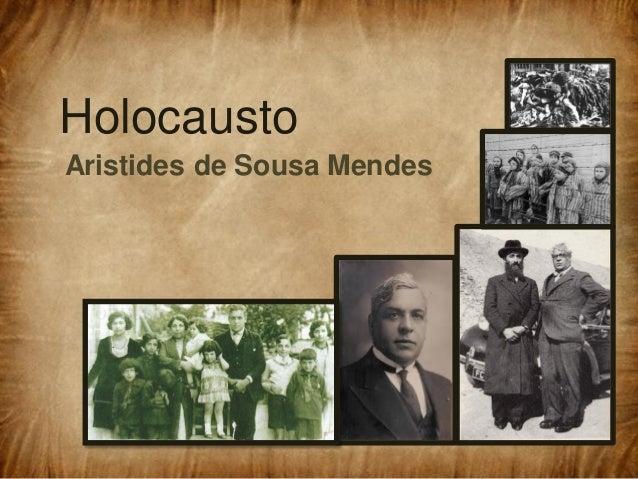 Holocausto Aristides de Sousa Mendes