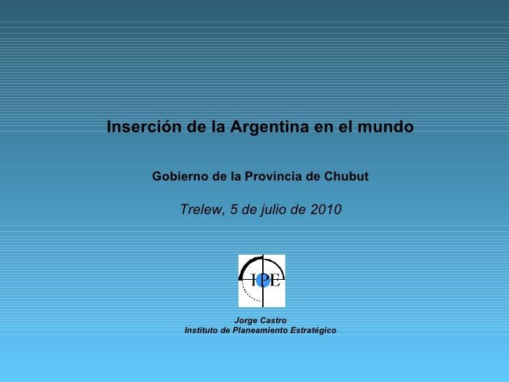 argentina inserción