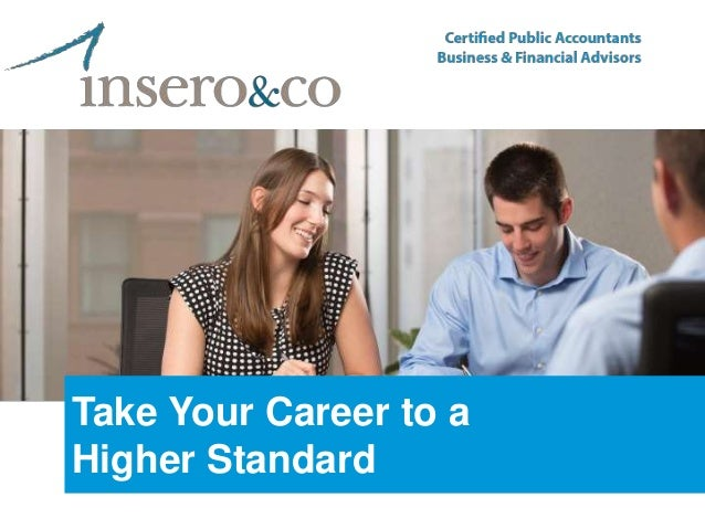 Take Your Career to a Higher Standard
