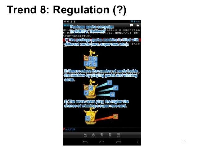 Trend 8: Regulation (?) 36