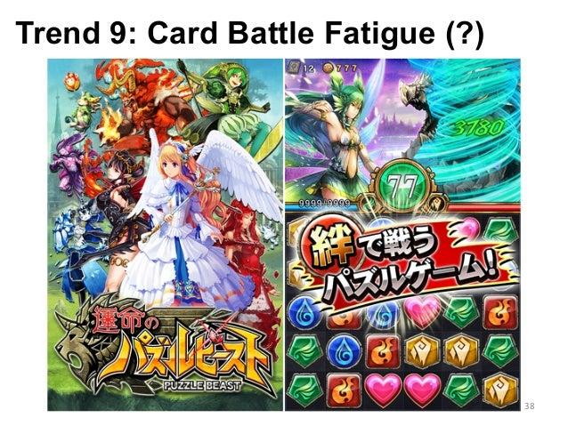 Trend 9: Card Battle Fatigue (?) 38