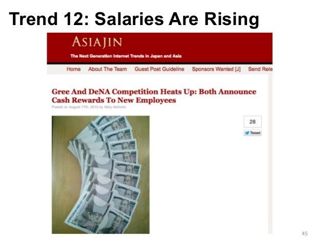 Trend 12: Salaries Are Rising 45
