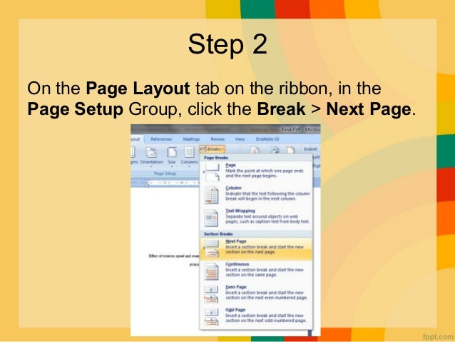 How to insert page numbering in specific page numbering pages 3 ccuart
