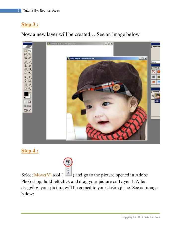 Insert pictures in adobe photoshop ( business fellows ) Slide 3
