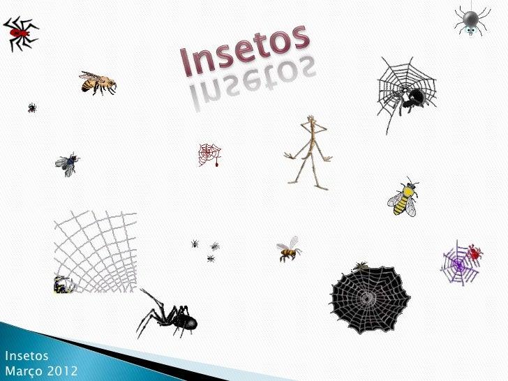 InsetosMarço 2012