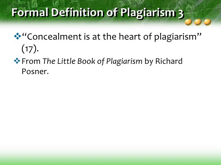 an understanding of plagiarism Staff and students at york st john university talk about what constitutes as plagiarism, how to avoid it and what is expected in regards of good academic writing.