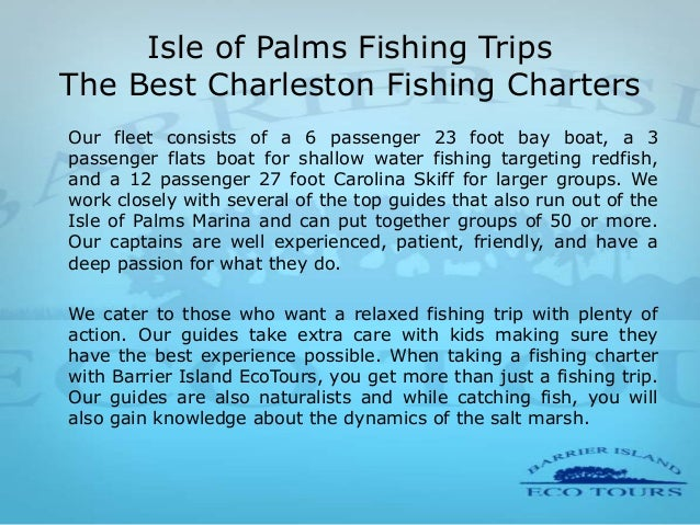 Charleston Barrier Island Eco Tours With Food