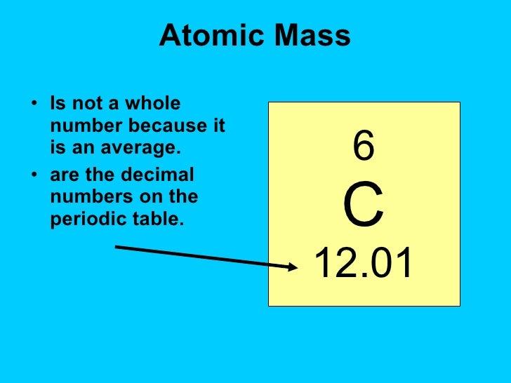 Inside the atomnotes atomic mass urtaz Gallery