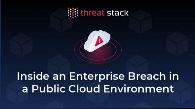 Today's discussion ● Why is AWS unique and what is this intel based on? ● Where AWS leveraged attacks started -- tired of ...