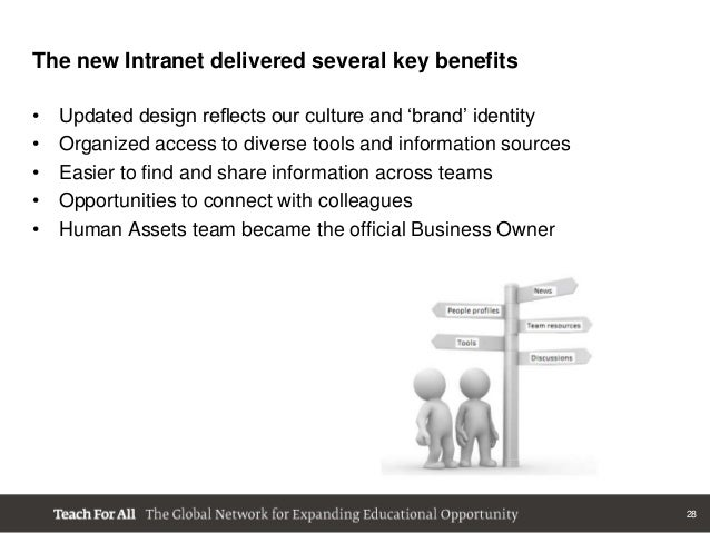 a discussion on the advantages of intranet Recently i came across a very interesting discussion in the intranet the scope of advantages of the platform-based intranets make a convincing.