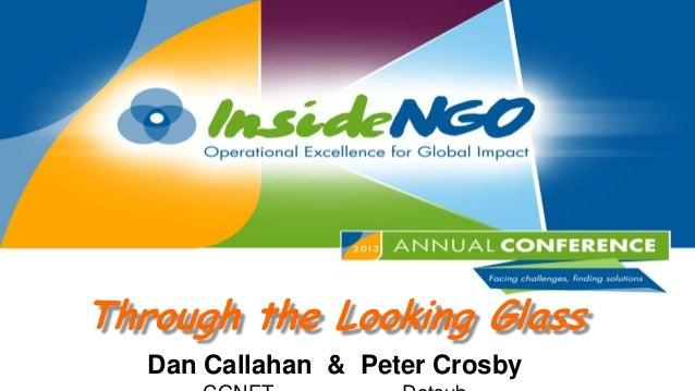 Through the Looking Glass Dan Callahan & Peter Crosby