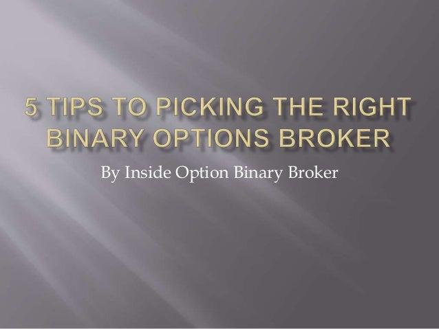 Binary options insider book