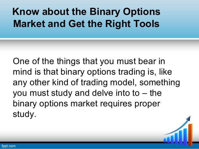 Binary option that