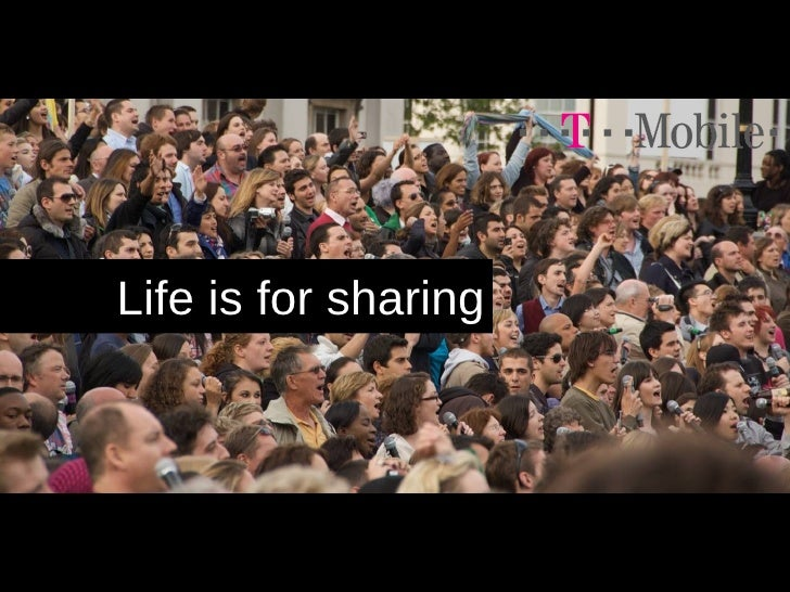 Life is for sharing
