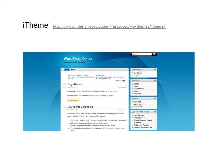 InsideoutLegal\'s pick of WordPress themes