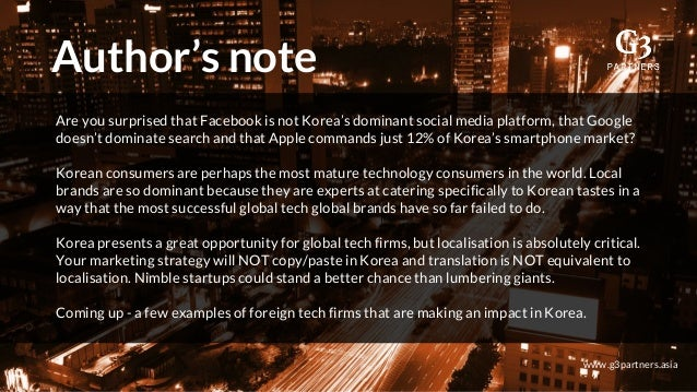 Insider Guide to Korea's Tech and Startup Ecosystem in 2017 - G3 Part…