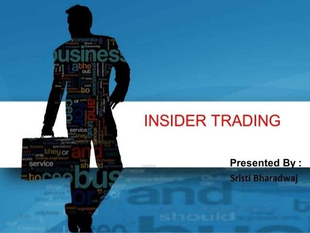 WHAT IS INSIDER TRADING??? Insider trading is dealing in securities of a listed company by any person who has knowledge of...