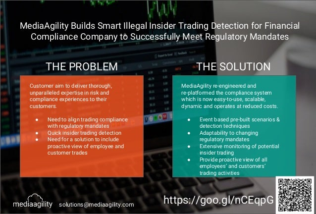 MediaAgility Builds Smart Illegal Insider Trading Detection for Financial Compliance Company to Successfully Meet Regulato...