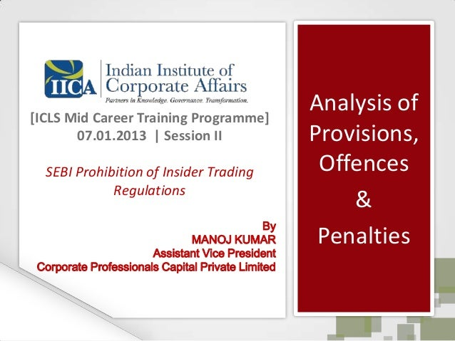 [ICLS Mid Career Training Programme]                                                   Analysis of       07.01.2013 | Sess...