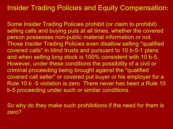 Insider employee stock option trading and stock prices