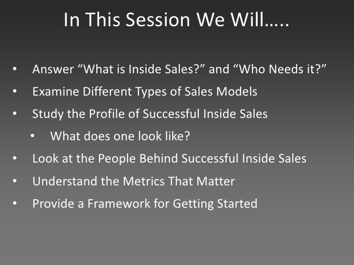 The Agony & Ecstasy of Building and Scaling Inside Sales Slide 3