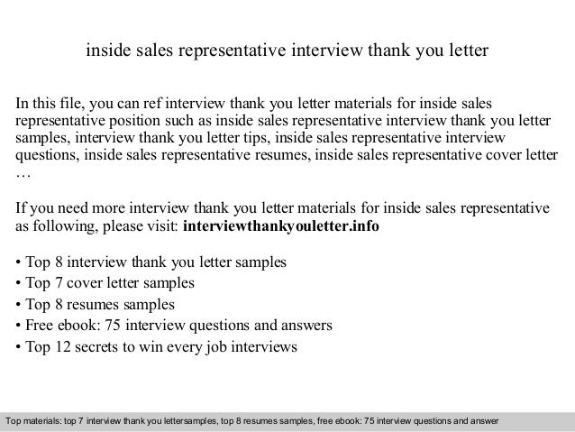 inside sales representative cover letter thevillas co
