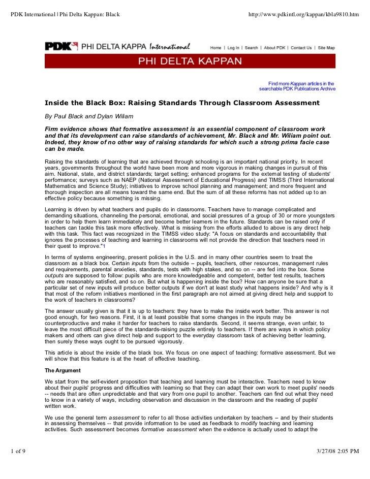 PDK International   Phi Delta Kappan: Black                                                      http://www.pdkintl.org/ka...