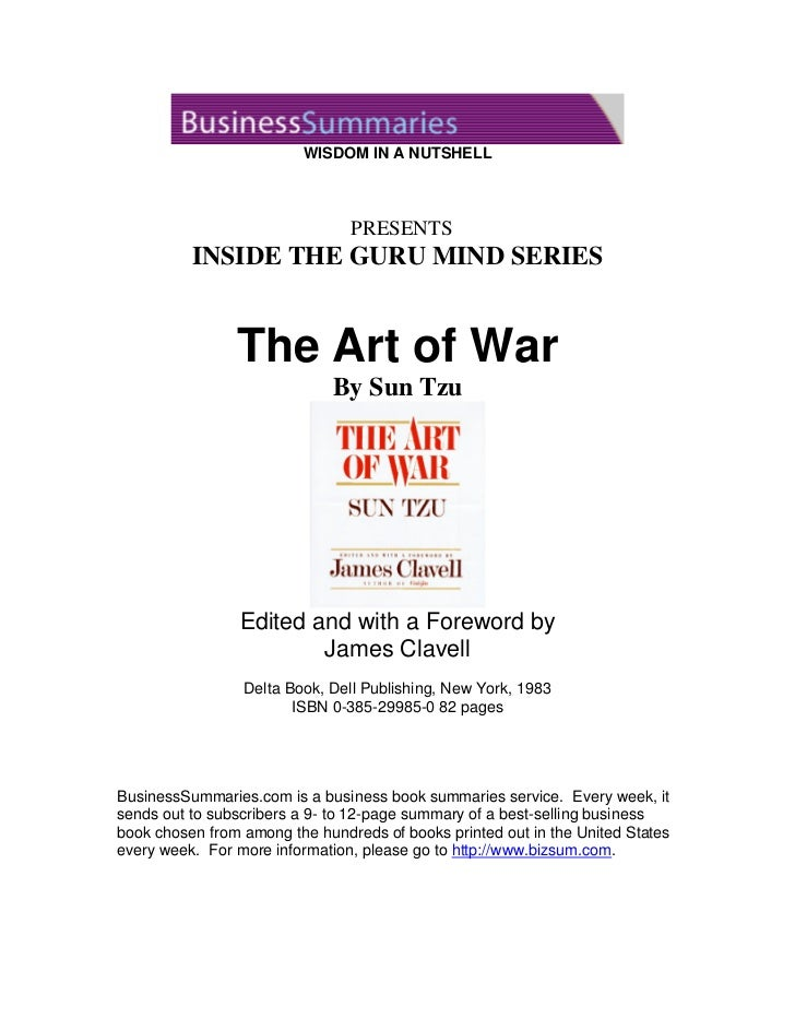 WISDOM IN A NUTSHELL                                PRESENTS          INSIDE THE GURU MIND SERIES                The Art o...