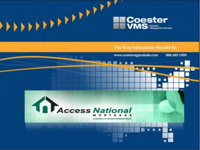Access National & Coester VMS Relationship