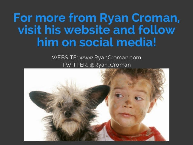 For more from Ryan Croman, visit his website and follow him on social media! WEBSITE: www.RyanCroman.com TWITTER: @Ryan_Cr...