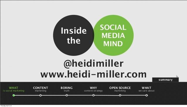 SOCIAL                                      Inside                                                            MEDIA       ...