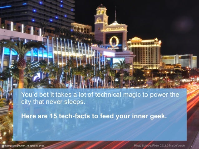 15 interesting tech facts about las vegas for Amazing facts about las vegas