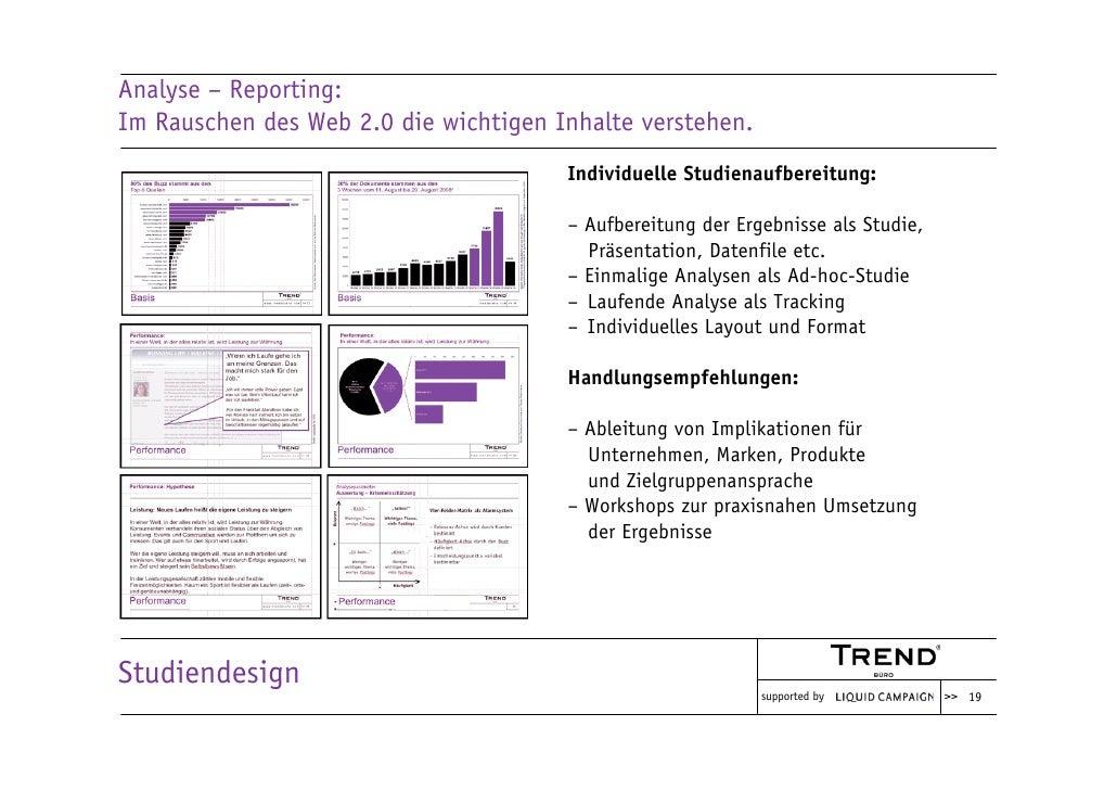 Analyse – Reporting: Im Rauschen des Web 2.0 die wichtigen Inhalte verstehen.                                        Indiv...