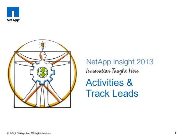 1 Activities & Track Leads