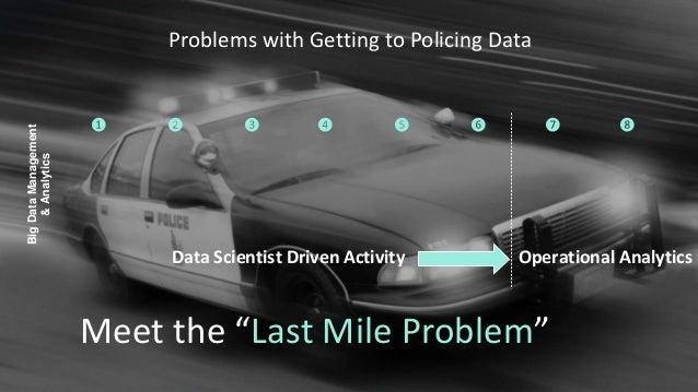 "Data Scientist Driven Activity Operational Analytics Meet the ""Last Mile Problem"" BigDataManagement &Analytics ❶ ❷ ❸ ❹ ❺ ❻..."