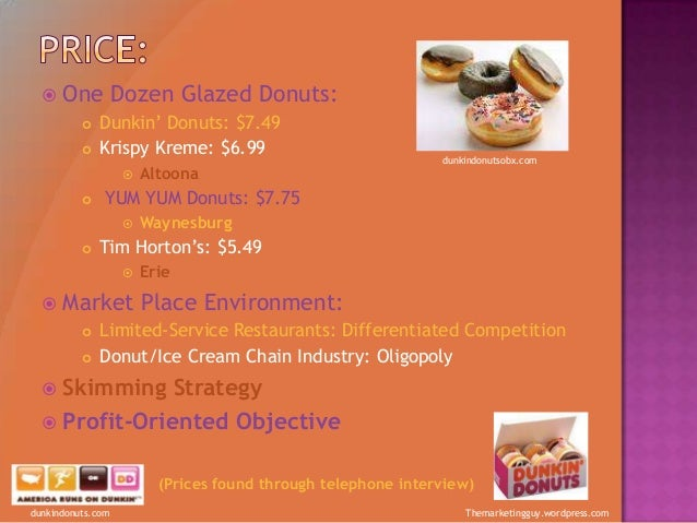 dunkin donuts distribution strategies Dunkin' donuts hope photography pork donuts may not be palatable to americans or europeans, but the parent company of dunkin' donuts and the baskin-robbins ice cream chains is catering to local tastes in china, where it aims to open we think the best strategy is to execute on brand differentiation.