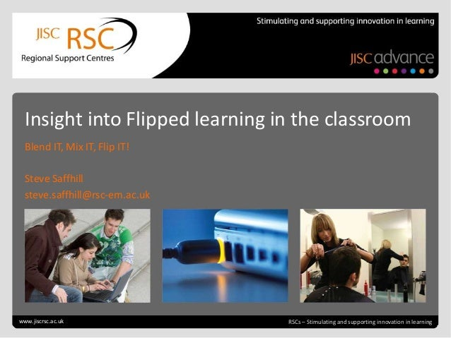 Go to View > Header & Footer to edit July 4, 2013 | slide 1 RSCs – Stimulating and supporting innovation in learning Insig...