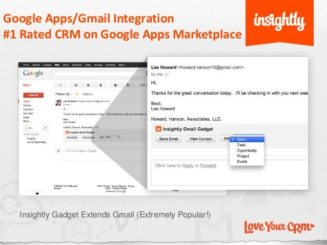 Insightly Customer Relationship Management (CRM) for Small Business