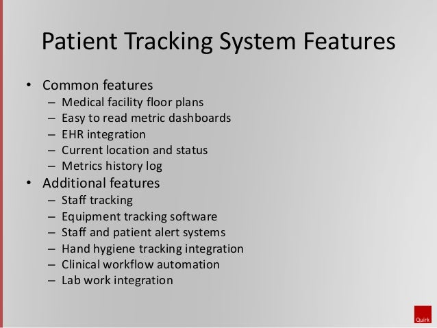 Insights Webinar Patient Tracking Solutions