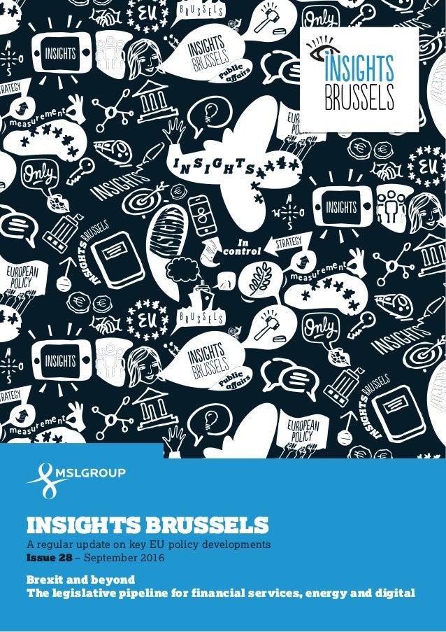 Insights Brussels - Brexit and Beyond