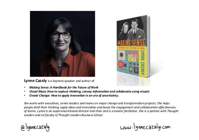 Lynne Cazaly - Insights & Connections