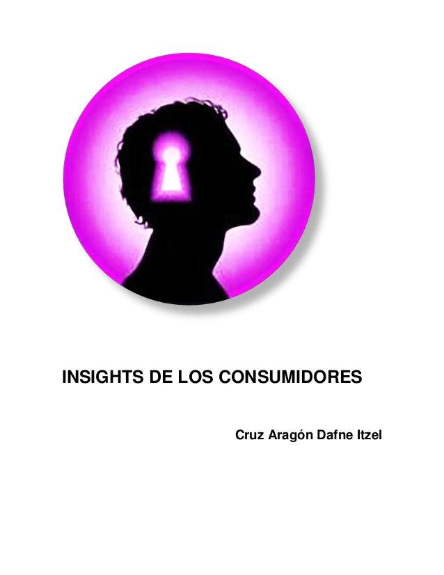 INSIGHTS DE LOS CONSUMIDORES Cruz Aragón Dafne Itzel