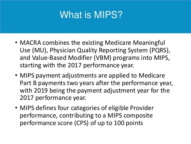 Clinical Nurse Specialist Programs >> 2016 MIPS Final Rule: What you need to know NOW