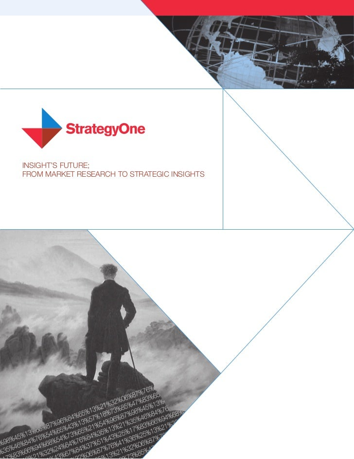 INSIGHT'S FUTURE; FROM MARKET RESEARCH TO STRATEGIC INSIGHTS