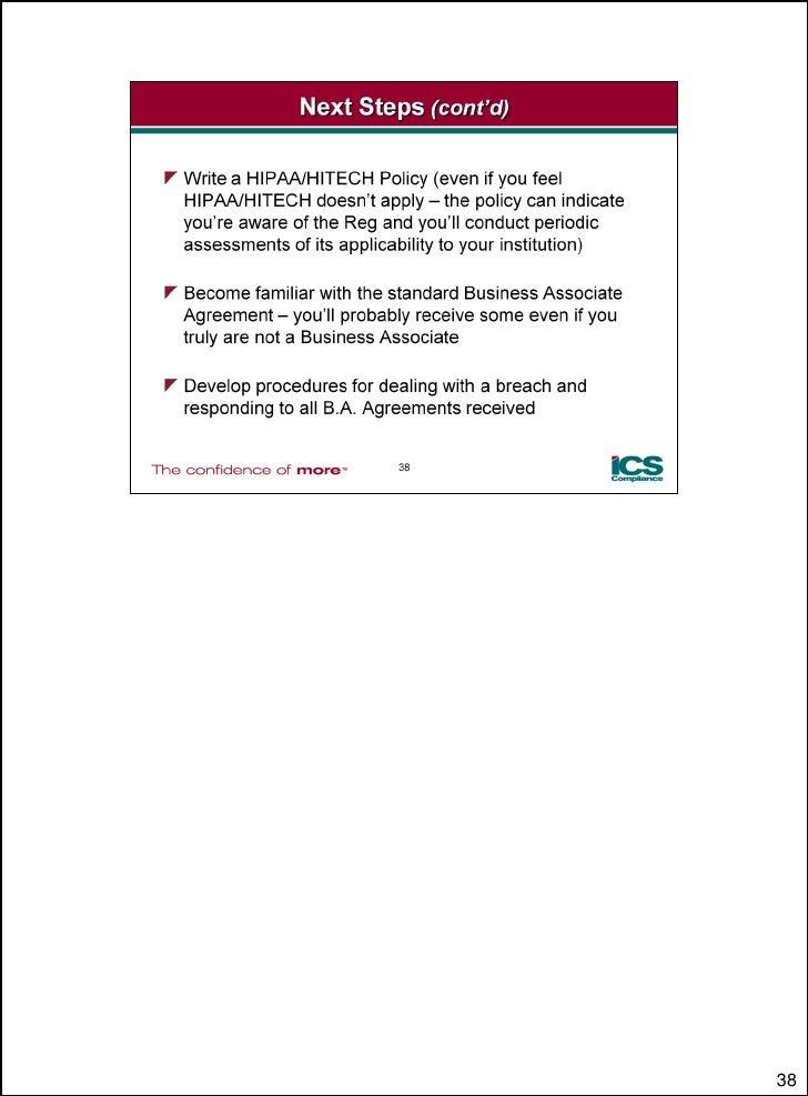 Hitech Act Risks With Ics Compliancejune 2010