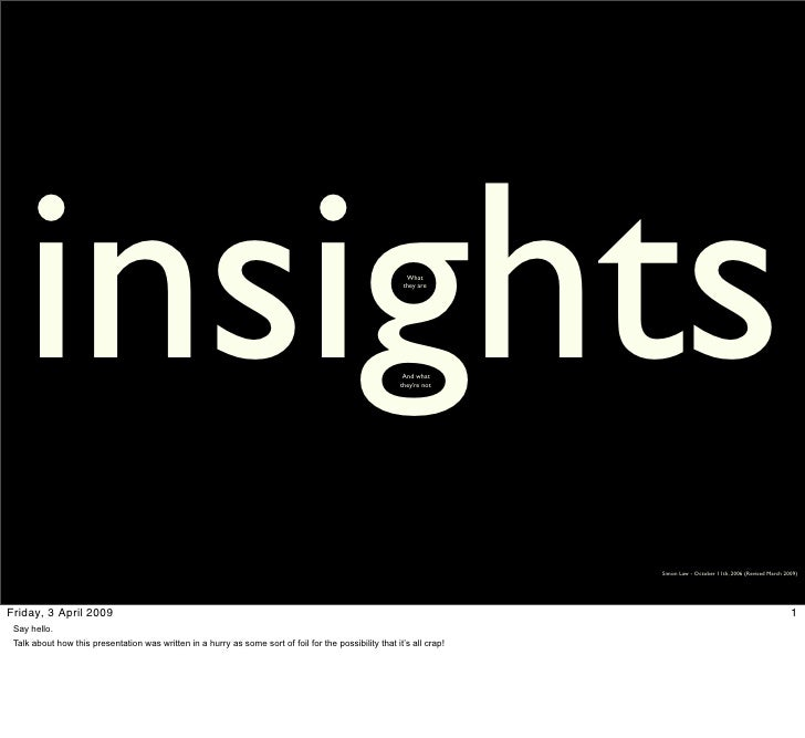 insights                                                                                                What              ...