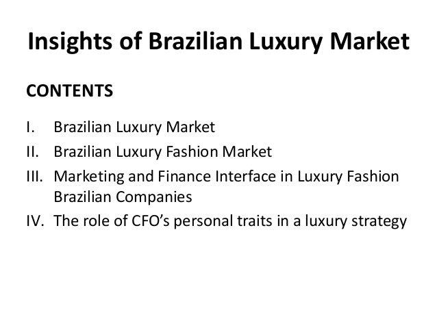 Insights of Brazilian Luxury Market Palestra UBIFRANCE Slide 2