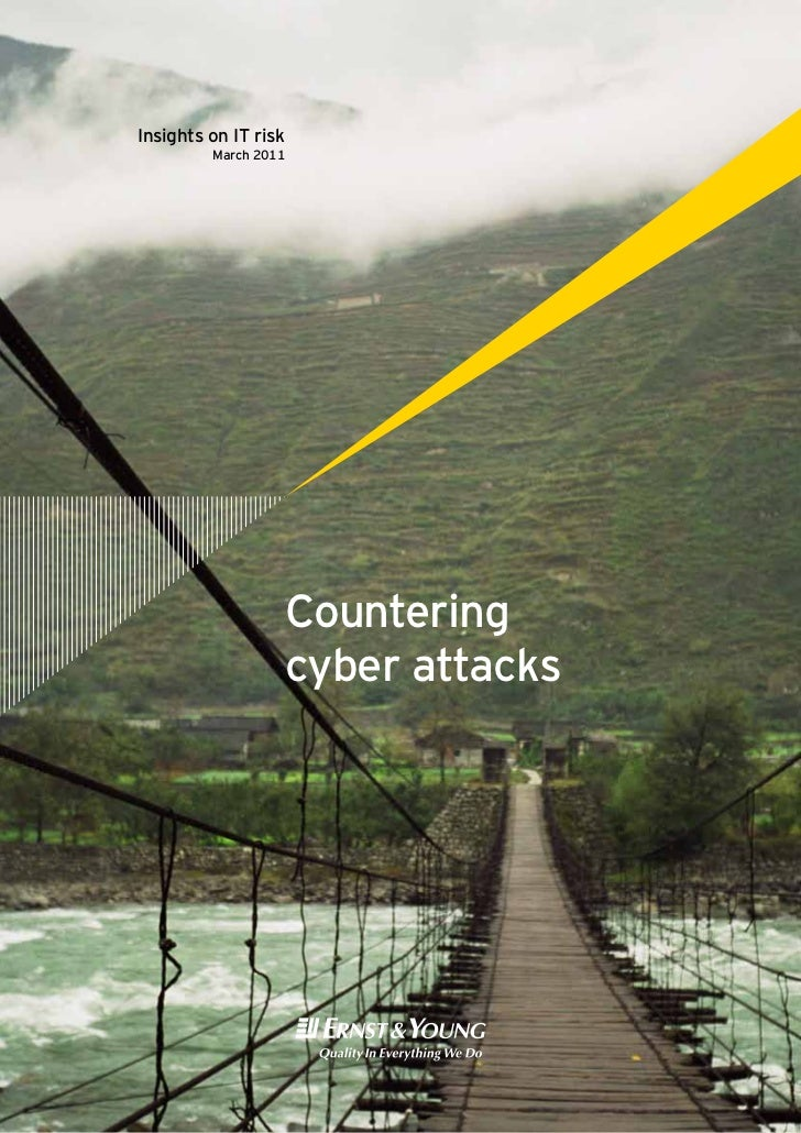 Insights on IT risk         March 2011                  Countering                  cyber attacks