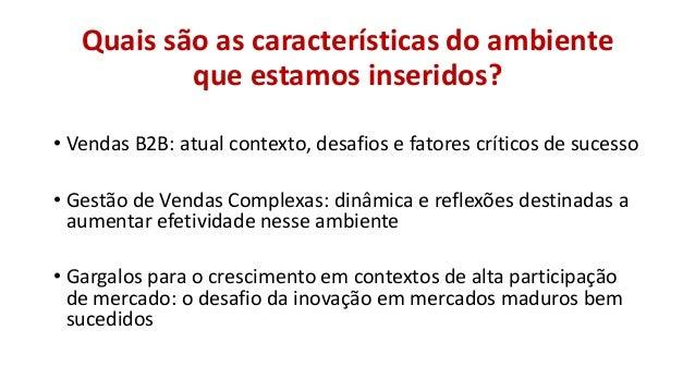 Insights sobre a gestão de vendas complexas Slide 2